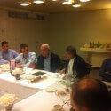 מפגש עם שגריר ישראל בסין מר מתן וילנאי