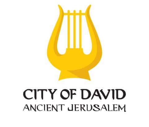 לוגו עיר דוד אנגלית