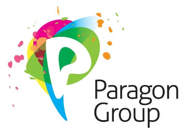 Logo group smaller